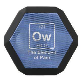 The element of pain black bluetooth speaker