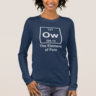 The element of pain long sleeve T-Shirt