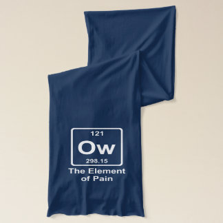 The element of pain scarf
