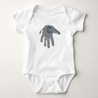 The elephant baby bodysuit