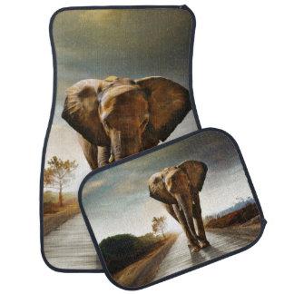 The Elephant Car Floor Carpet