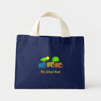 The Elephant School Run Mini Tote Bag