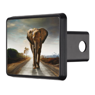 The Elephant Trailer Hitch Cover
