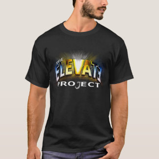 The Elevate Project black t-shirt