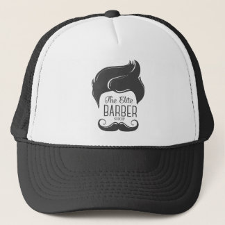 The Elite Barber Shop Trucker Hat