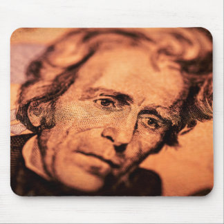 The Elusive President Jackson Mouse Pad