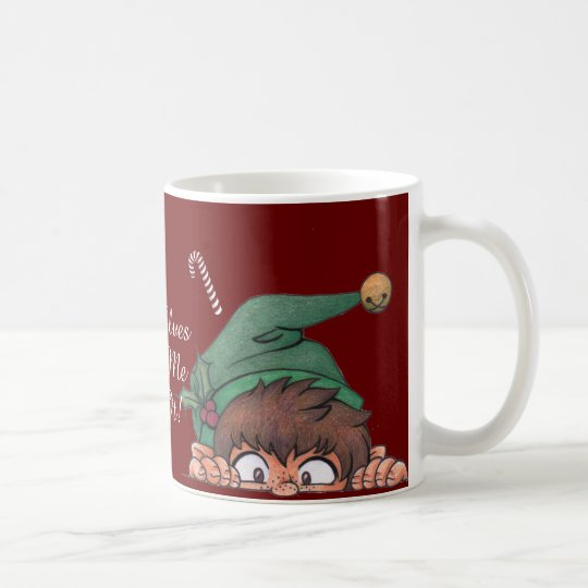 The Elves Made Me Do It! Coffee Mug