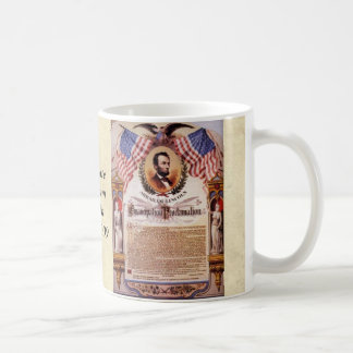 The Emancipation Proclamation Tribute To Lincoln Coffee Mug