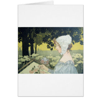 THE EMBROIDERER LA BRODEUSE CARDS