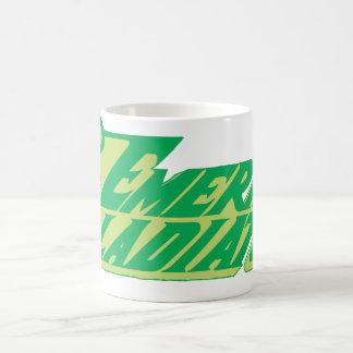 The Emerald Gladiator Basic White Mug