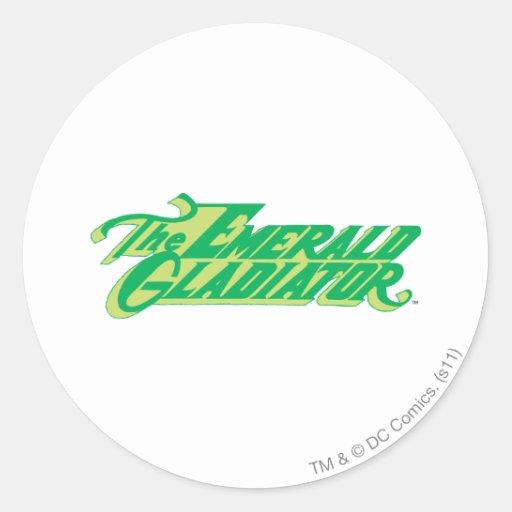 The Emerald Gladiator Stickers