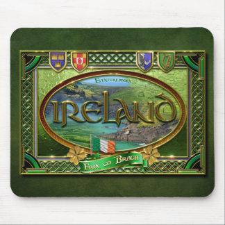 The Emerald Isle Mouse Pad