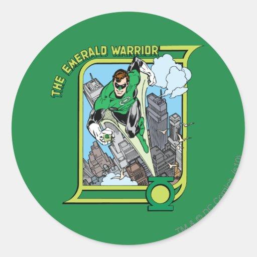 The Emerald Warrior Sticker