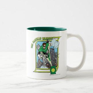 The Emerald Warrior Two-Tone Mug