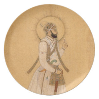 The Emperor Farrukhsiyar (1683-1719) from the Larg Party Plates