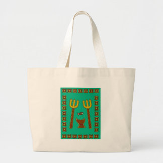 The Emperor of Fish Large Tote Bag