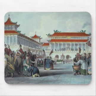 The Emperor Teaon-Kwang Reviewing his Guards, Pala Mouse Pad