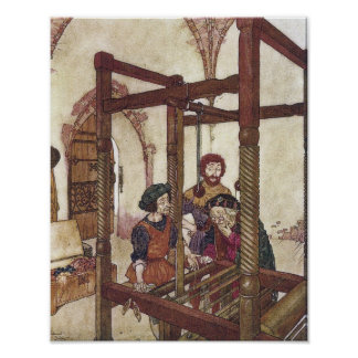 The Emperor's New Clothes by Edmund Dulac Poster