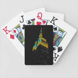 the Empire State bldg. Bicycle Playing Cards