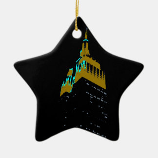 the Empire State bldg. Ceramic Ornament