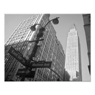 The Empire State Building New York City Photographic Print