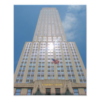The Empire State Building, NYC - Photo Print