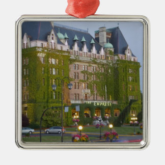 The Empress Hotel at the inner harbour in Metal Ornament