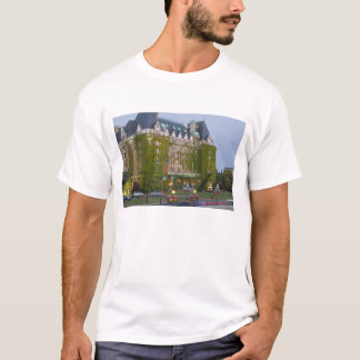 The Empress Hotel at the inner harbour in T-Shirt