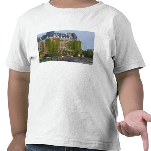 The Empress Hotel at the inner harbour in Tee Shirts