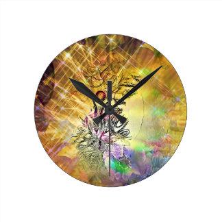The Empress Round Clock