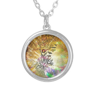The Empress Silver Plated Necklace