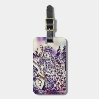 The Empress Tarot Luggage Tag