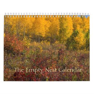 The Empty Nest Calendar Autumn Cover