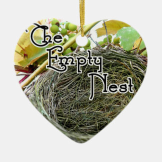 The Empty Nest Ceramic Ornament