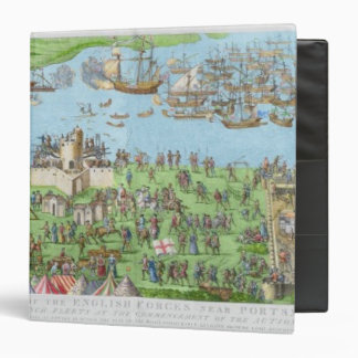 The Encampment of the English Forces Binder