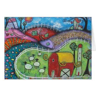 The Enchanted Farm Card