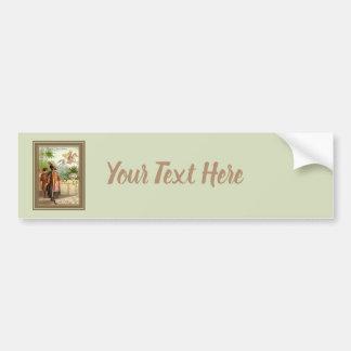 The Enchanted Horse Scheherazade's Tale Bumper Sticker