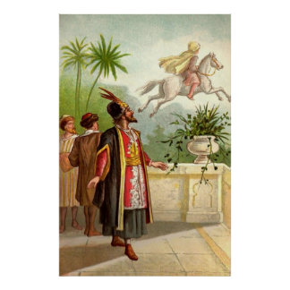 The Enchanted Horse Scheherazade's Tale Poster