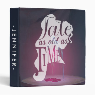 The Enchanted Rose   Tale As Old As Time 3 Ring Binder