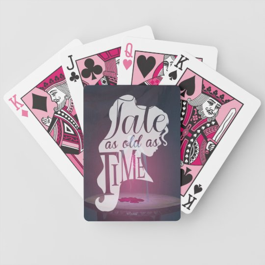 The Enchanted Rose | Tale As Old As Time Bicycle Playing Cards