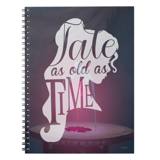 The Enchanted Rose | Tale As Old As Time Notebook