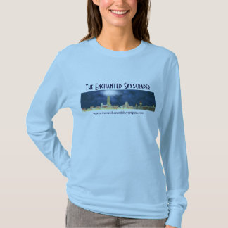The Enchanted Skyscraper Skyline - Ladies T-Shirt