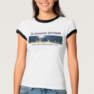 The Enchanted Skyscraper Skyline - short sleeved T-Shirt