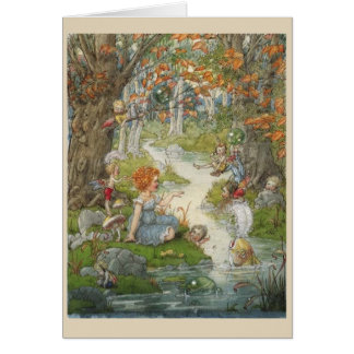 The Enchanted Stream, Card