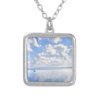 The Enchanted Virgin Island Silver Plated Necklace