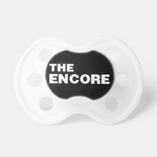 THE ENCORE bib from the Remix Encore Mic Drop Fa Pacifier