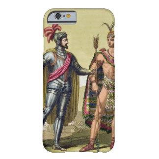 The Encounter between Hernando Cortes (1485-1547) iPhone 6 Case