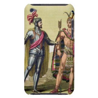 The Encounter between Hernando Cortes (1485-1547) Case-Mate iPod Touch Case