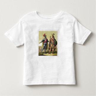 The Encounter between Hernando Cortes (1485-1547) T Shirt