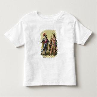 The Encounter between Hernando Cortes (1485-1547) Tshirts